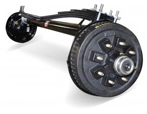 slipper axle