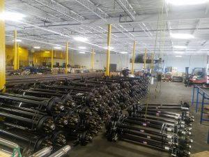 HSI Duratek Large Axle Orders