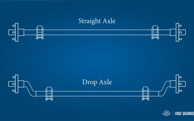 What are Drop Axles?